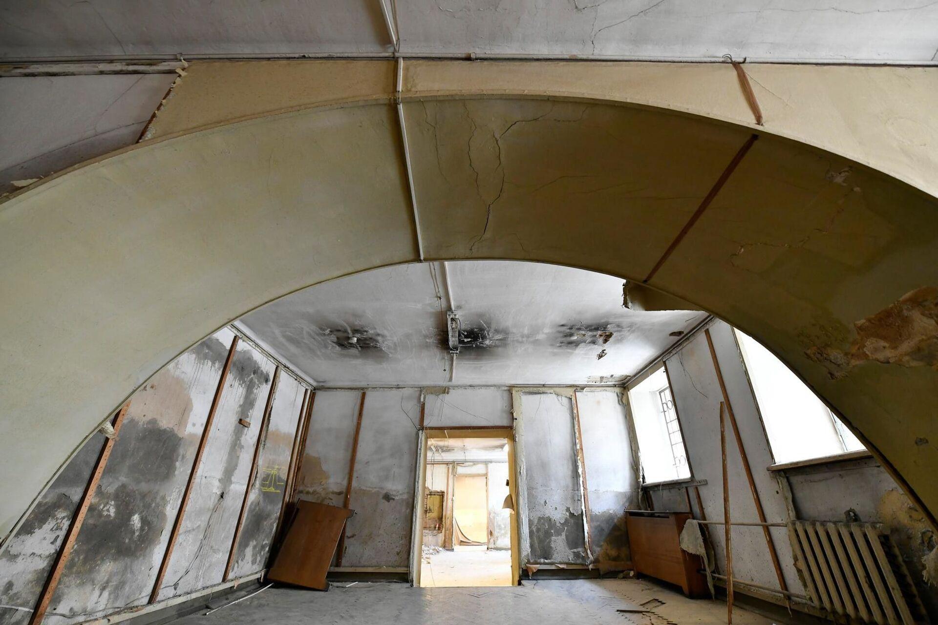 Здание будет полностью освобождено в феврале следующего года - Sputnik Грузия, 1920, 24.08.2021