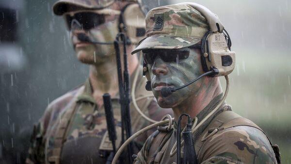 ამერიკელი სამხედროები საქართველოში წვრთნებზე - Sputnik საქართველო