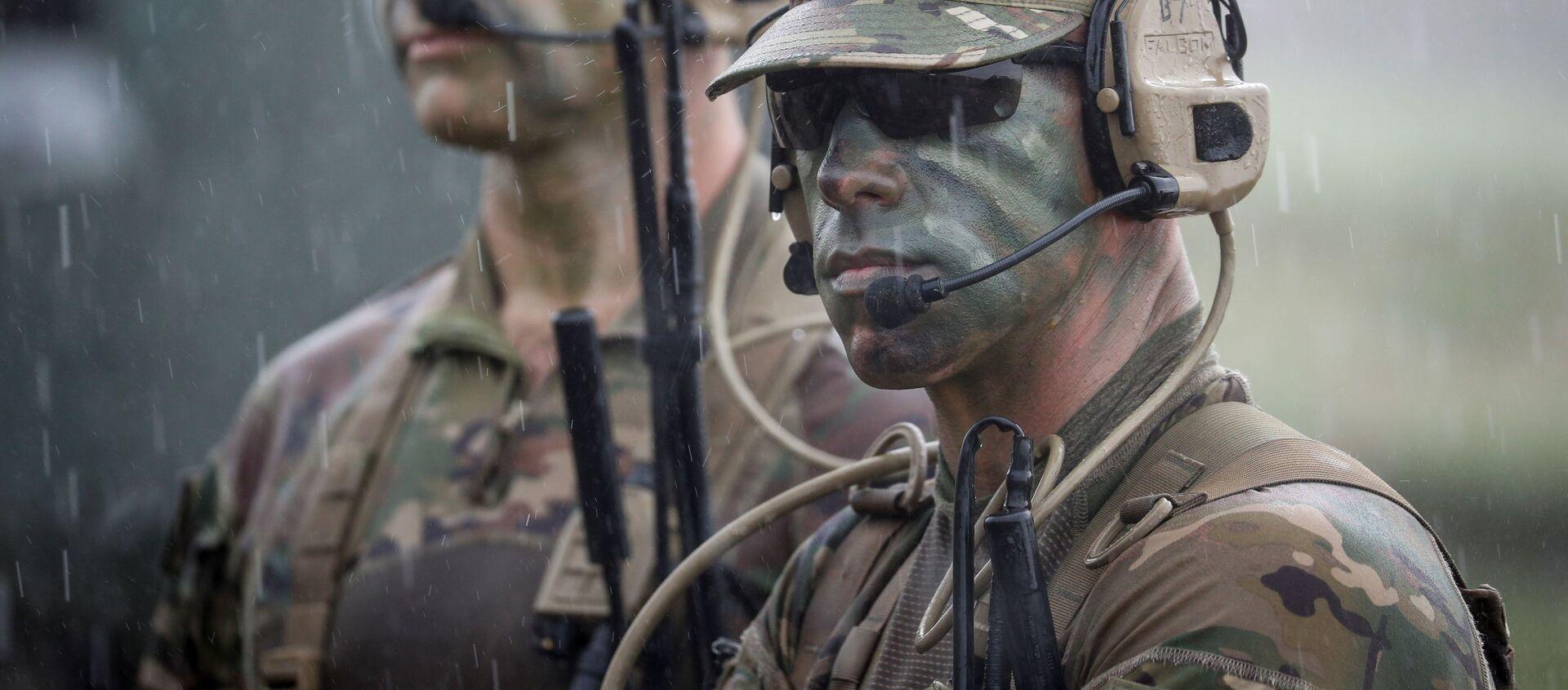 ამერიკელი სამხედროები საქართველოში წვრთნებზე - Sputnik საქართველო, 1920, 05.08.2021