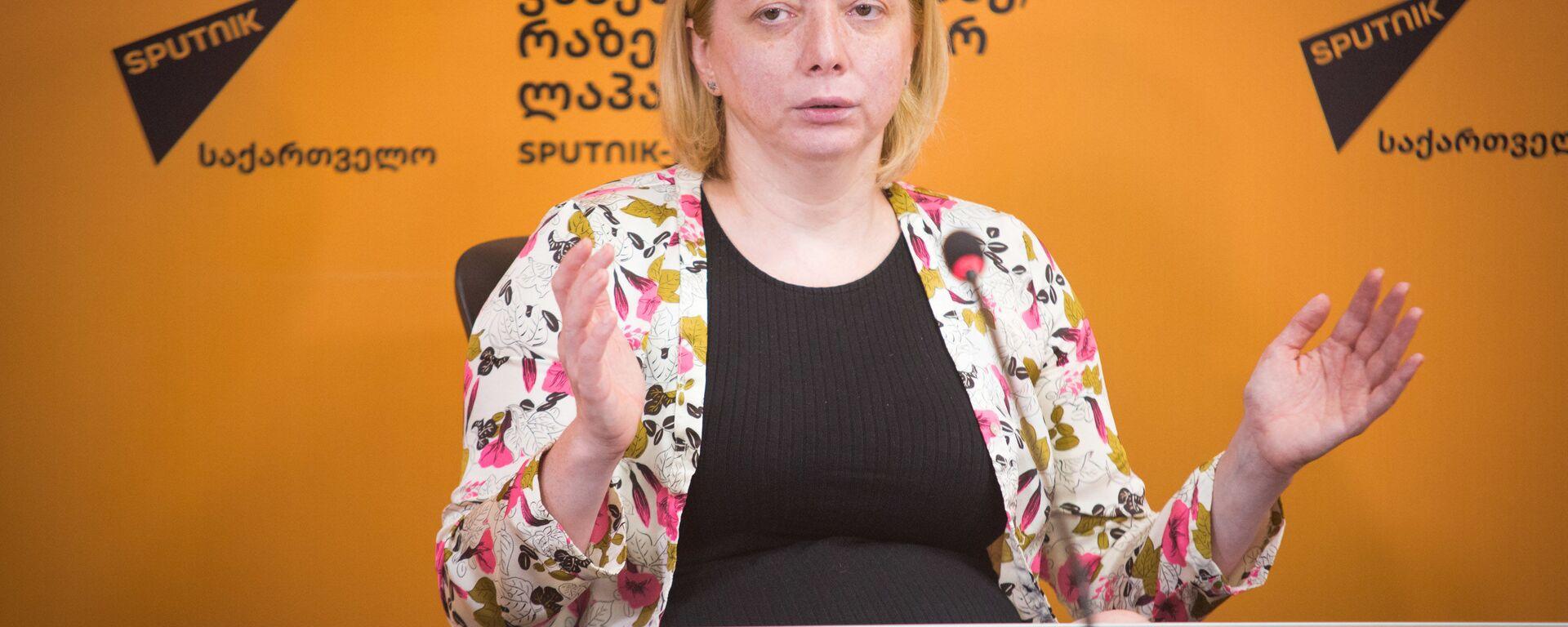 Тея Годоладзе – директор Института изучения Земли и Национального центра сейсмологии  - Sputnik Грузия, 1920, 04.08.2021