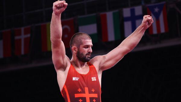 Борец Гено Петриашвили на Олимпиаде в Токио - Sputnik Грузия
