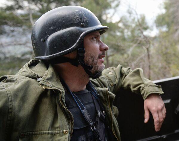 Специальный фотокорреспондент МИА Россия сегодня Андрей Стенин. Журналист родился 22 декабря 1980 года в городе Печора - Sputnik Грузия