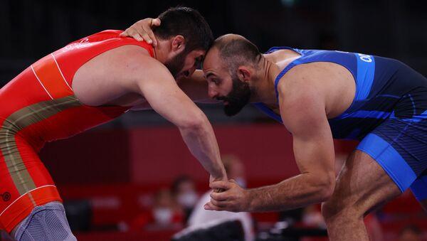 Борец Элизбар Одикадзе на Олимпиаде в Токио - Sputnik Грузия