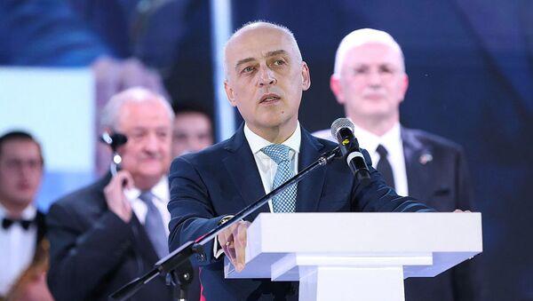 Министр иностранных дел Грузии Давид Залкалиани   - Sputnik Грузия