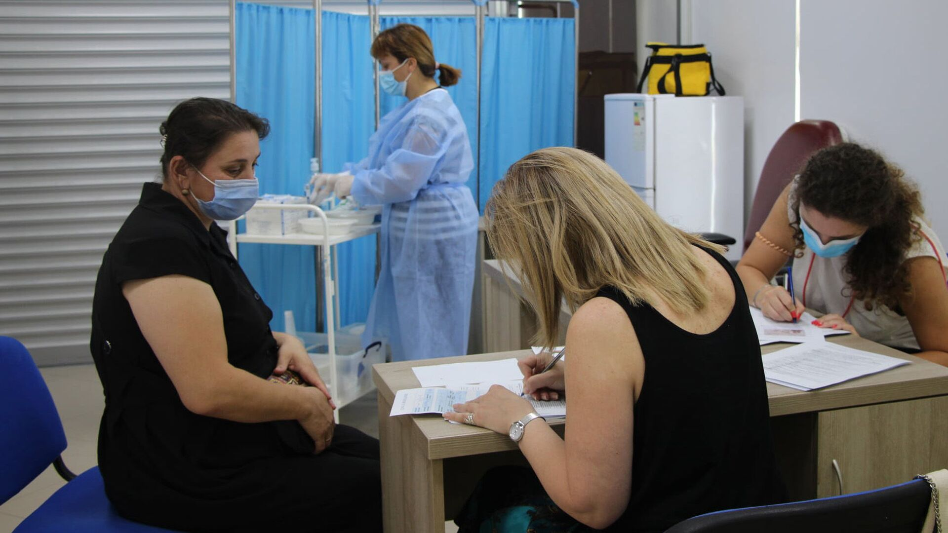 Эпидемия коронавируса - вакцинация населения в Аджарии - Sputnik Грузия, 1920, 20.09.2021