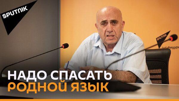 Шемокмедели: в Грузии пренебрегают языковыми нормами - Sputnik Грузия