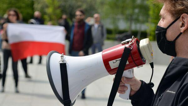 Первомайские демонстрации в Варшаве и Бейруте - Sputnik Грузия