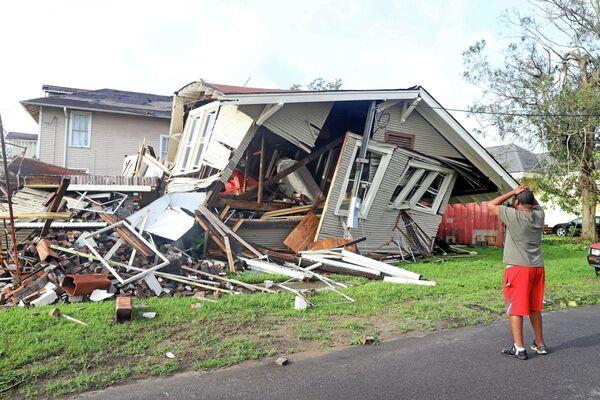 """Ураган """"Ида"""" принес огромные разрушения и оставил без электричества около двух миллионов человек - Sputnik Грузия"""