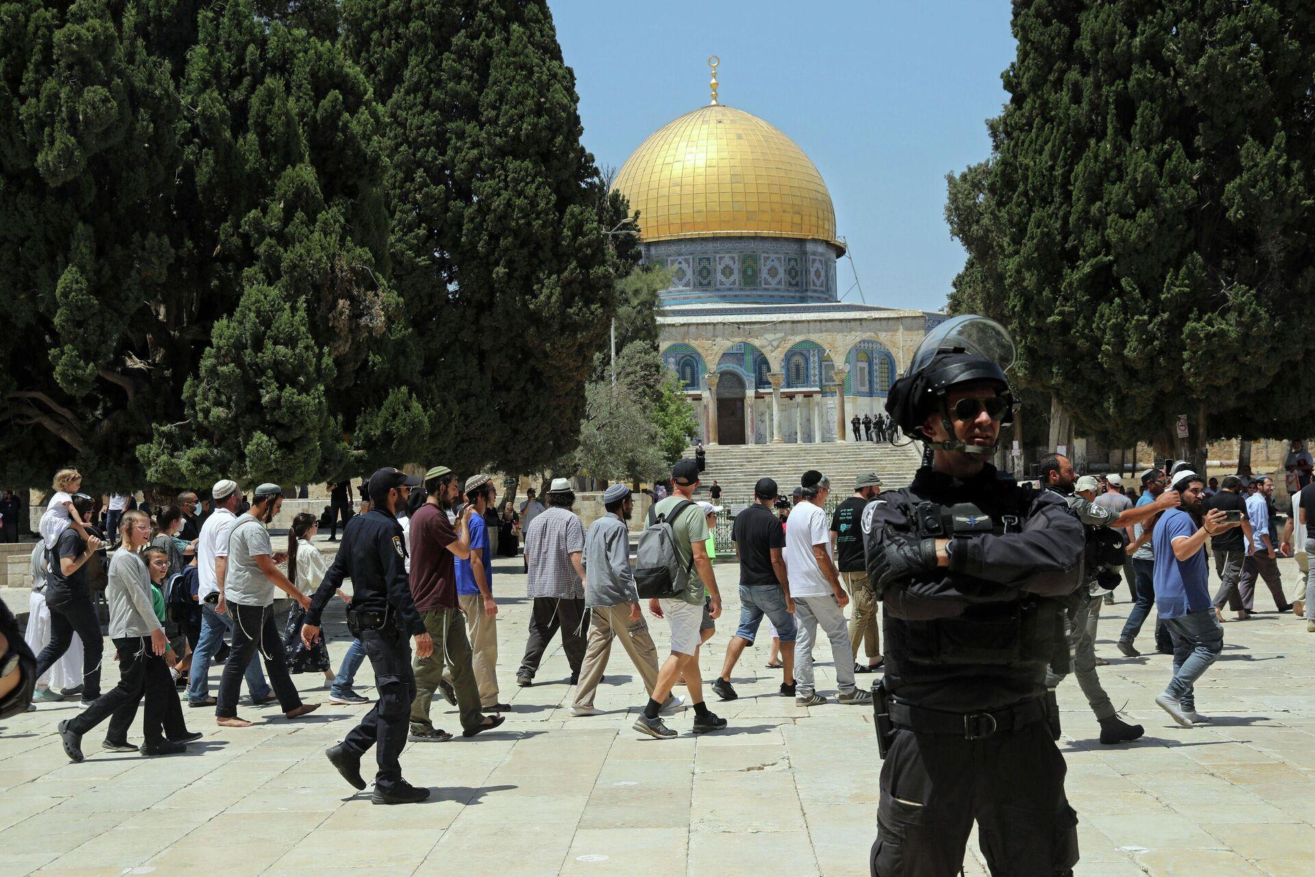 Большая мечеть Аль-Акша в Иерусалиме - Sputnik Грузия, 1920, 19.09.2021