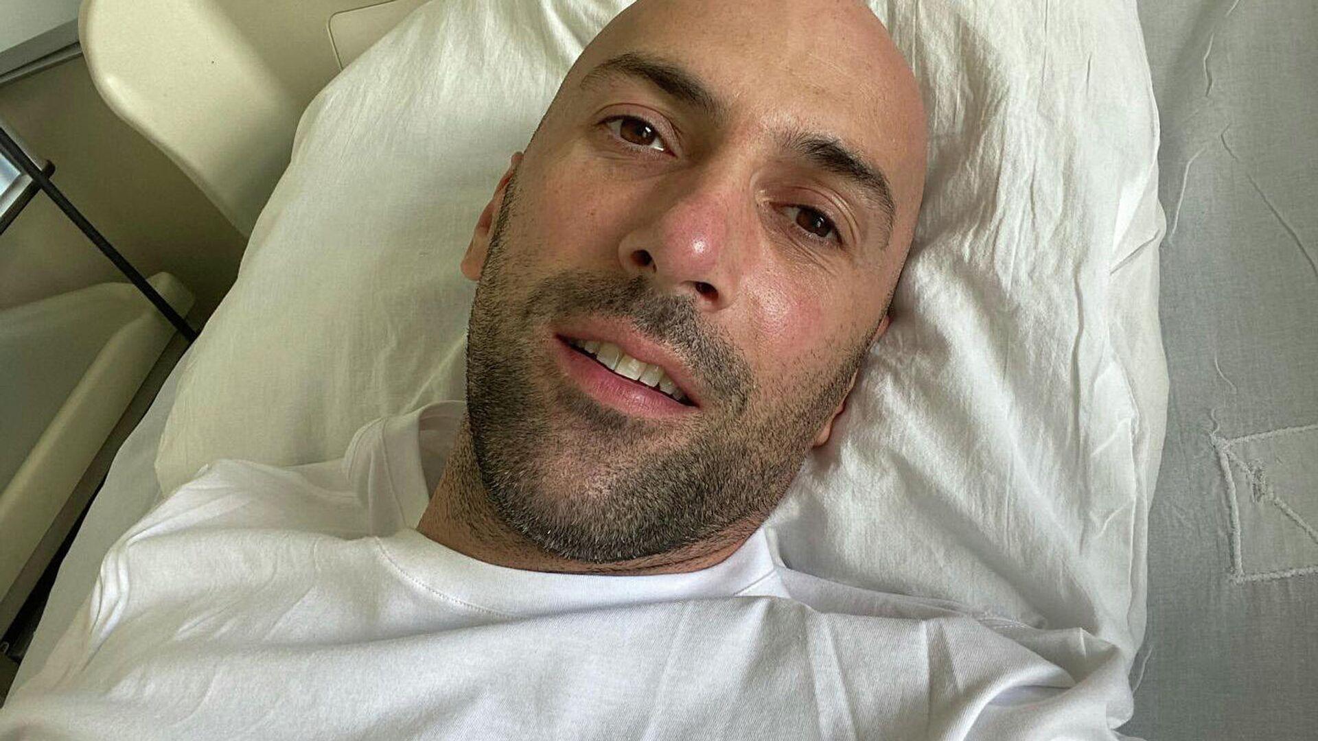 Хореограф Евгений Папунаишвили в больнице - Sputnik Грузия, 1920, 06.09.2021