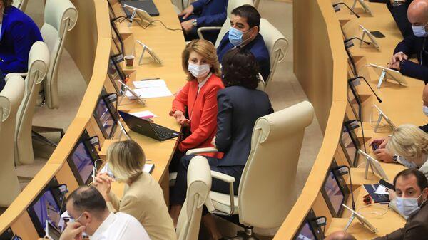 Парламент Грузии. Депутаты. Осенняя сессия - Sputnik Грузия