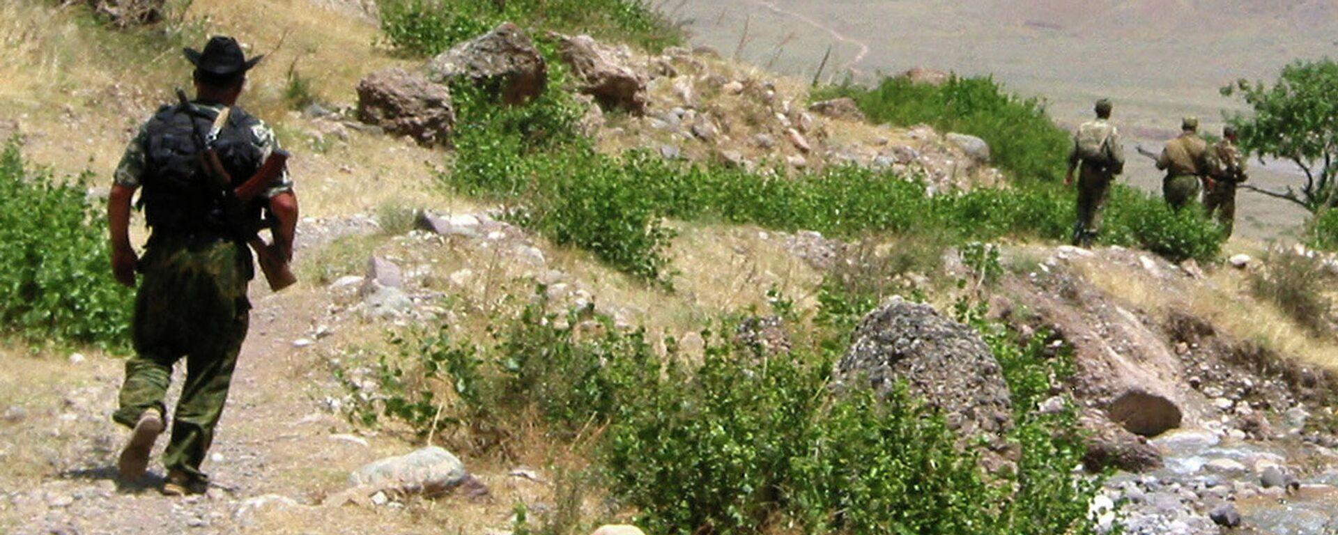Ситуация на таджикский-афганской границе. Архивное фото - Sputnik Грузия, 1920, 07.09.2021