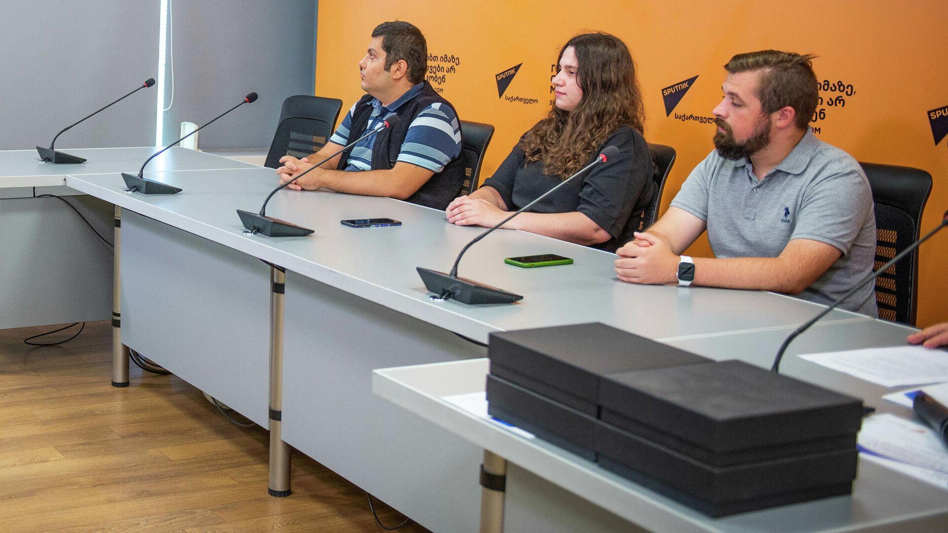 Пресс-конференция: Награждение участников международного конкурса в Тбилиси  - Sputnik Грузия, 1920, 07.09.2021