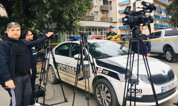 На месте ЧП прибыли представители всех региональных СМИ и телеканалов - Sputnik Грузия