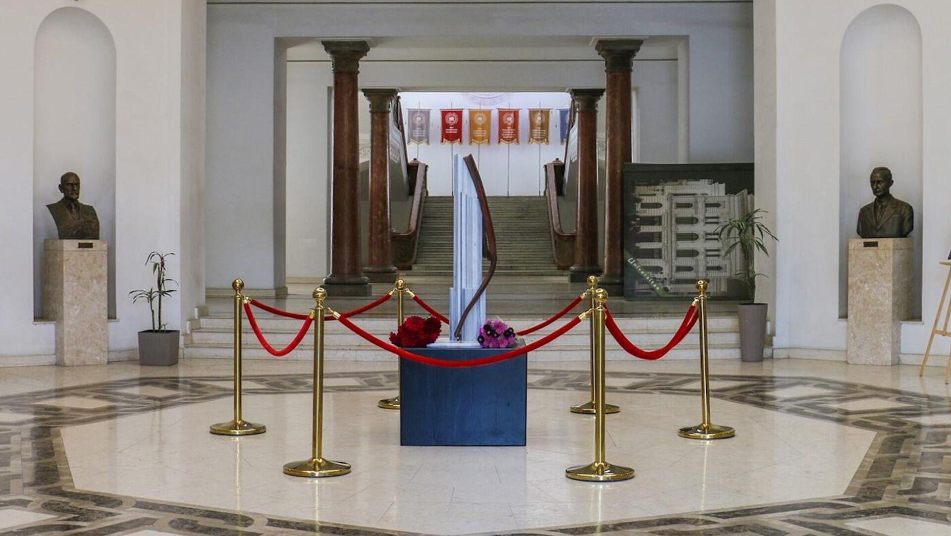 В ТГУ открылся мемориал и выставка, посвященная трагедии 11 сентября в Нью-Йорке  - Sputnik Грузия, 1920, 10.09.2021