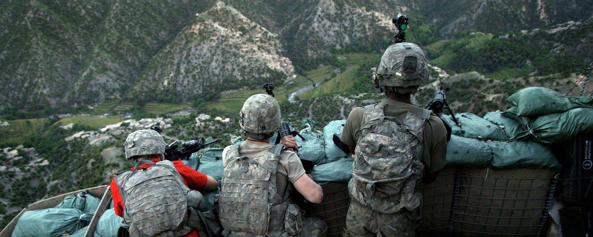 Это спектакль: военный эксперт о причине ухода США из Афганистана - Sputnik Грузия, 1920, 11.09.2021