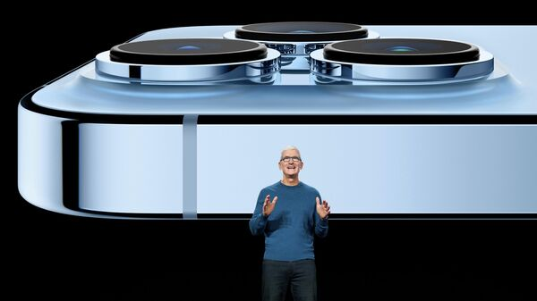 Презентация новых моделей iPhone 13 pro в Купертино, Калифорния - Sputnik Грузия