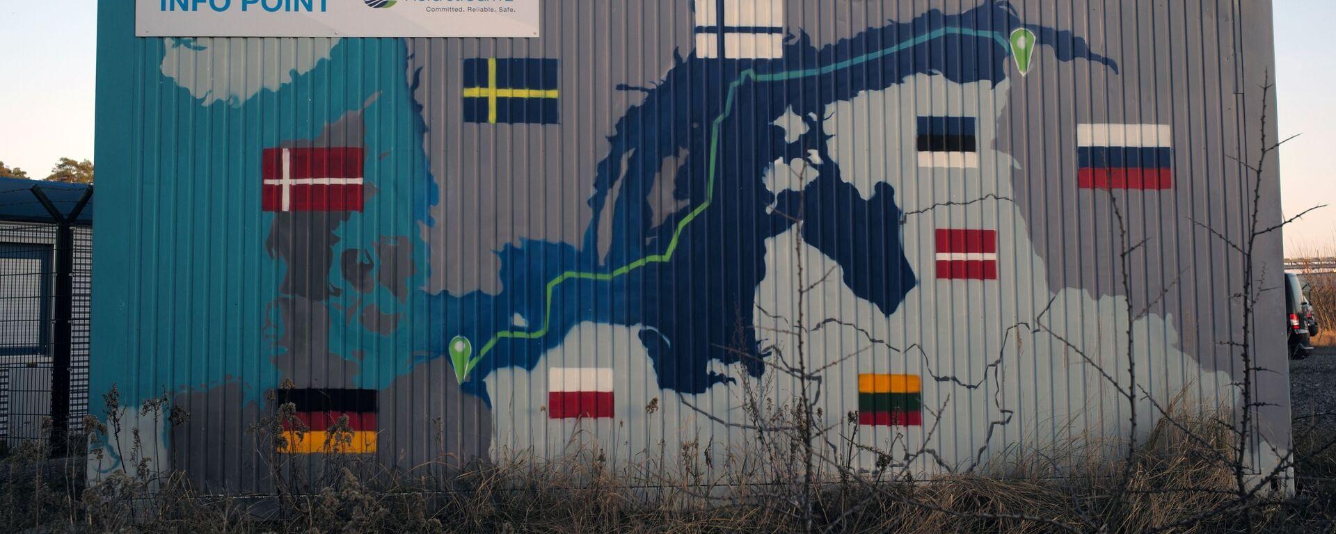 Береговые объекты газопровода Северный поток - 2 в городе Любмин в Германии - Sputnik Грузия, 1920, 15.09.2021