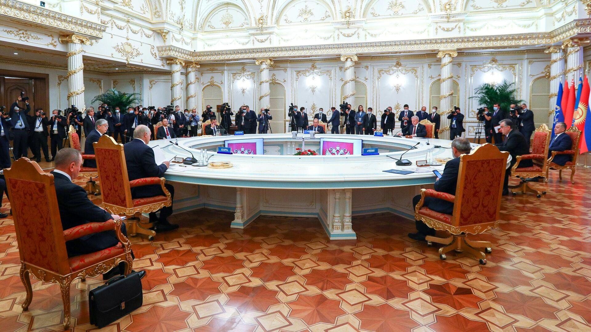 Заседание Совета коллективной безопасности ОДКБ - Sputnik Грузия, 1920, 16.09.2021