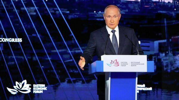 Владимир Путин - Sputnik Грузия