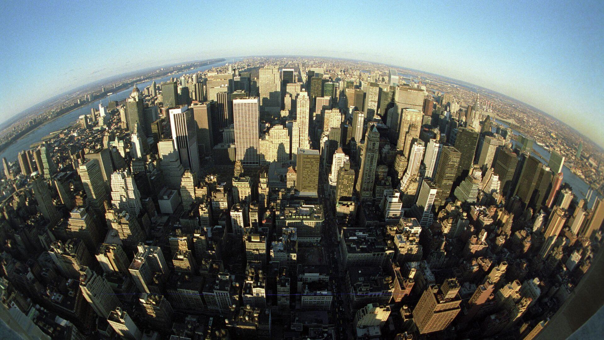 Нью-Йорк, США - городской пейзаж, панорама - Sputnik Грузия, 1920, 20.09.2021