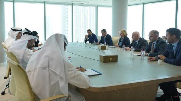 ნათია თურნავა შეხვედრაზე არაბთა გაერთიანებული საამიროების ეკონომიკის სამინისტროში - Sputnik საქართველო