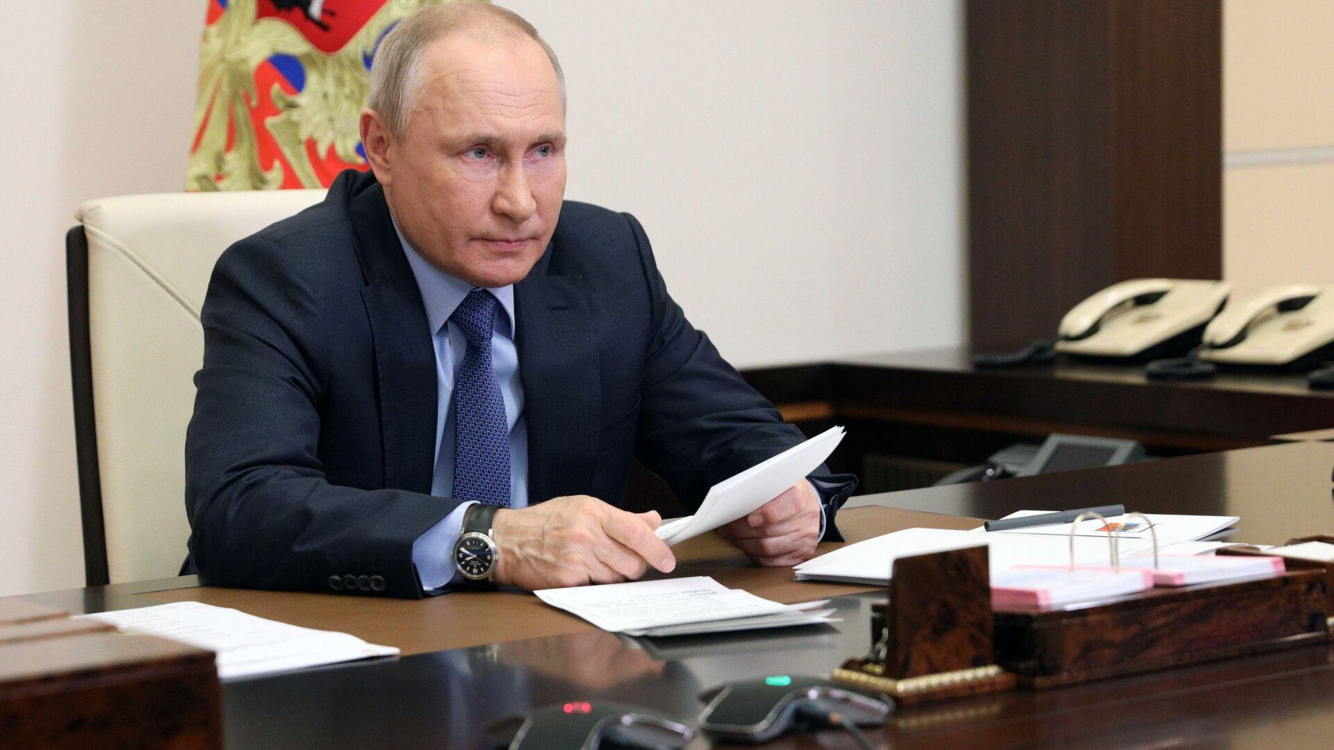 Президент РФ В. Путин - Sputnik Грузия, 1920, 21.09.2021