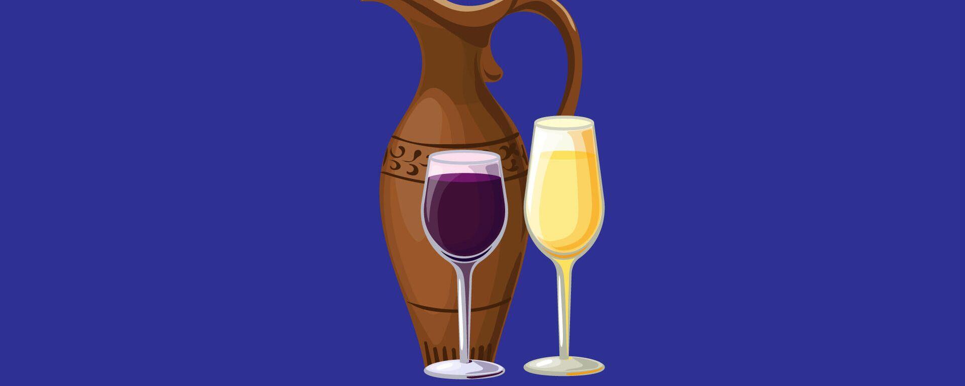 ქართული ღვინის პოპულარული სახეობები - Sputnik საქართველო, 1920, 22.09.2021