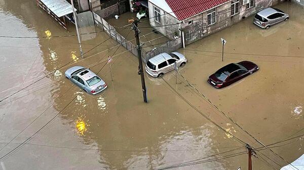 Наводнение после сильного ливневого дождя в Батуми - Sputnik Грузия