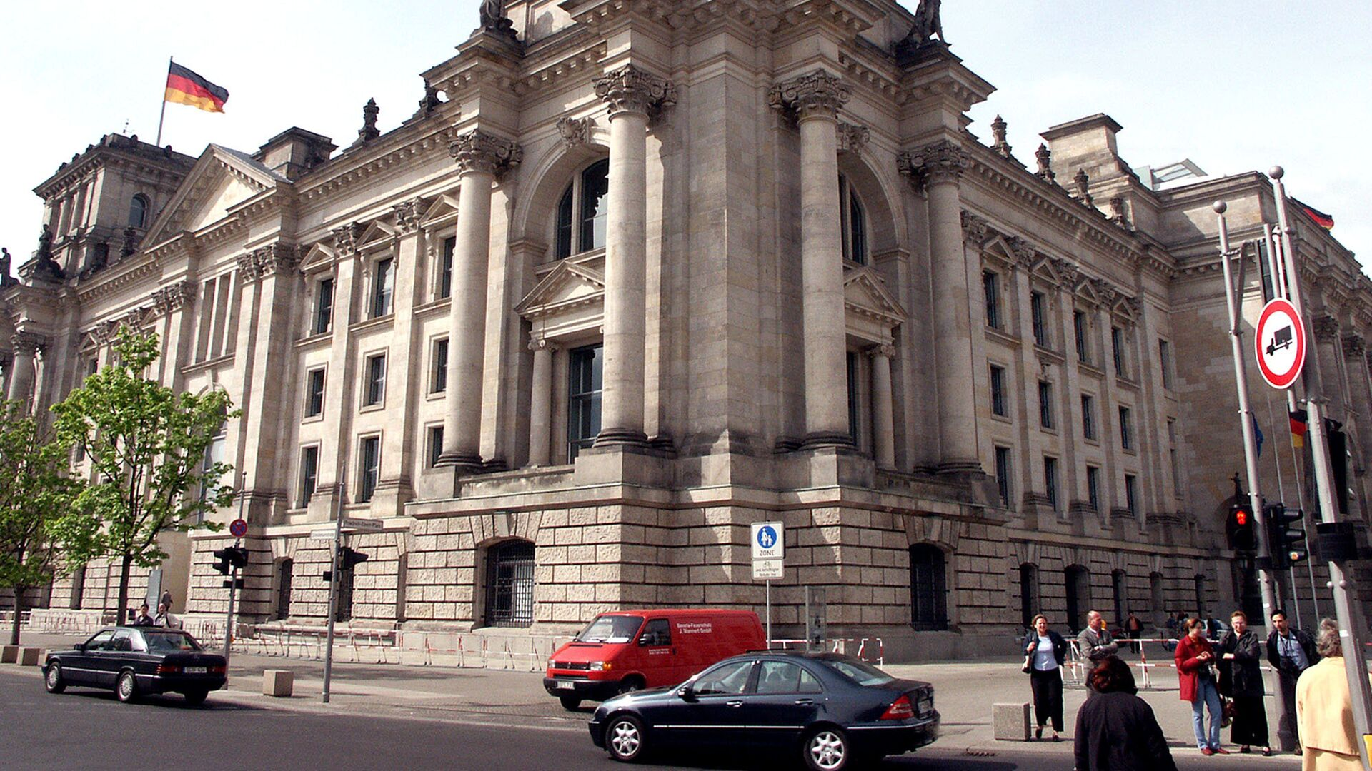 Здание Бундестага (Федерального Собрания Германии) - Sputnik Грузия, 1920, 22.09.2021
