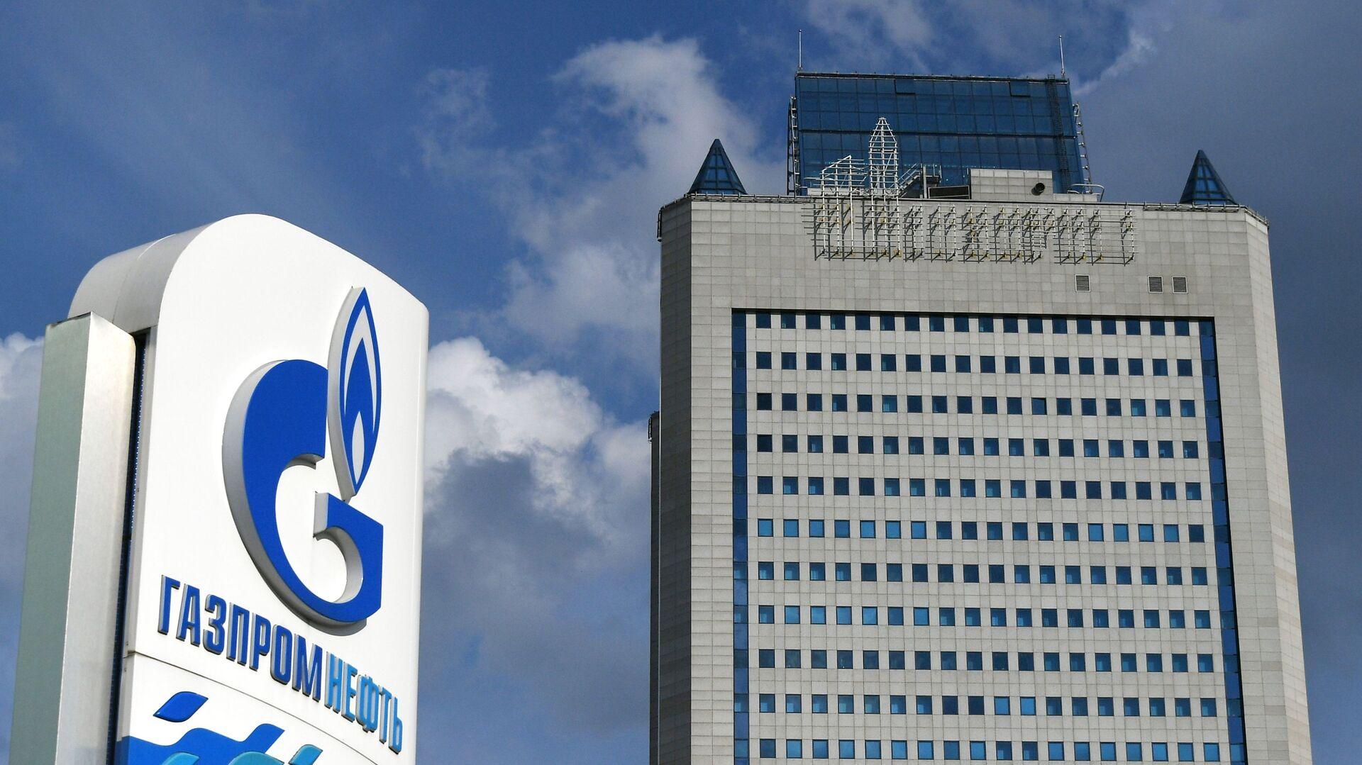 Здание компании Газпром в Москве  - Sputnik Грузия, 1920, 24.09.2021