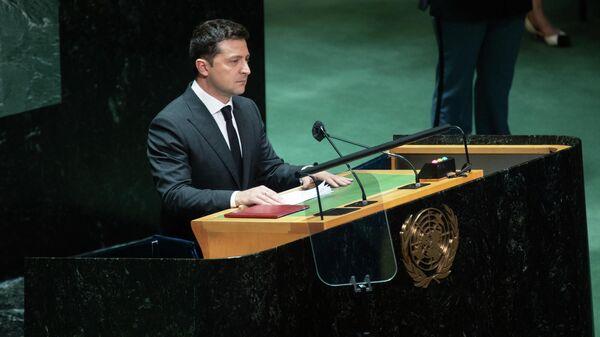 Президент Украины Владимир Зеленский - Sputnik Грузия