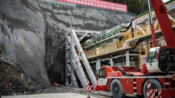 Строительство тоннеля Коби-Квешети - Sputnik Грузия