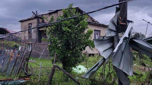 Последствия смерча на западе Грузии - Sputnik Грузия