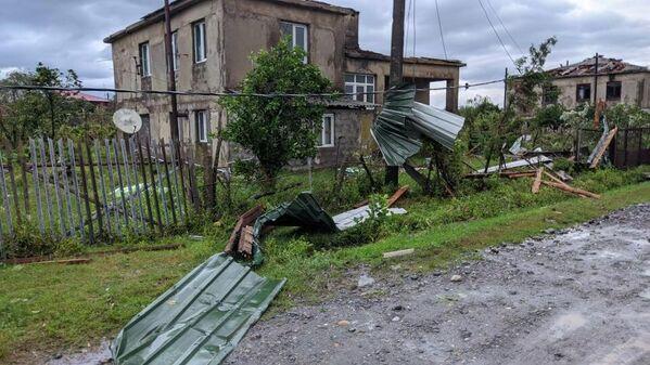 Жителям разрушенных домов пообещали предоставить временное жилье.  - Sputnik Грузия