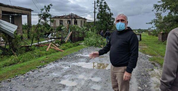На место прибыли представители местных властей, они уже оценивают ущерб. - Sputnik Грузия