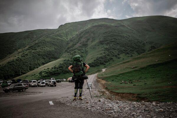 Путешествие по региону Казбеги является одним из самых популярных туристических маршрутов.  - Sputnik Грузия