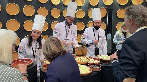 Грузинская кухня представлена на международной выставке во Франции - Sputnik Грузия