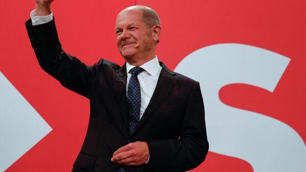 Кандидат в канцлеры Германии от социал-демократов Олаф Шольц - Sputnik Грузия