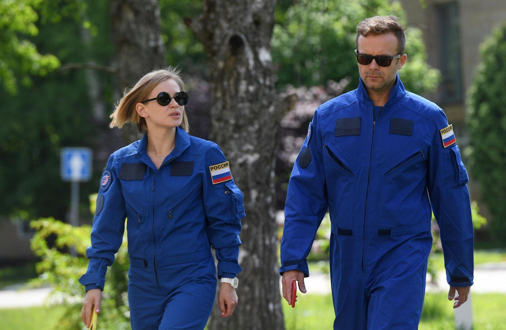 Съемочную группу фильма Вызов начали готовить к полету на МКС  - Sputnik საქართველო, 1920, 05.10.2021