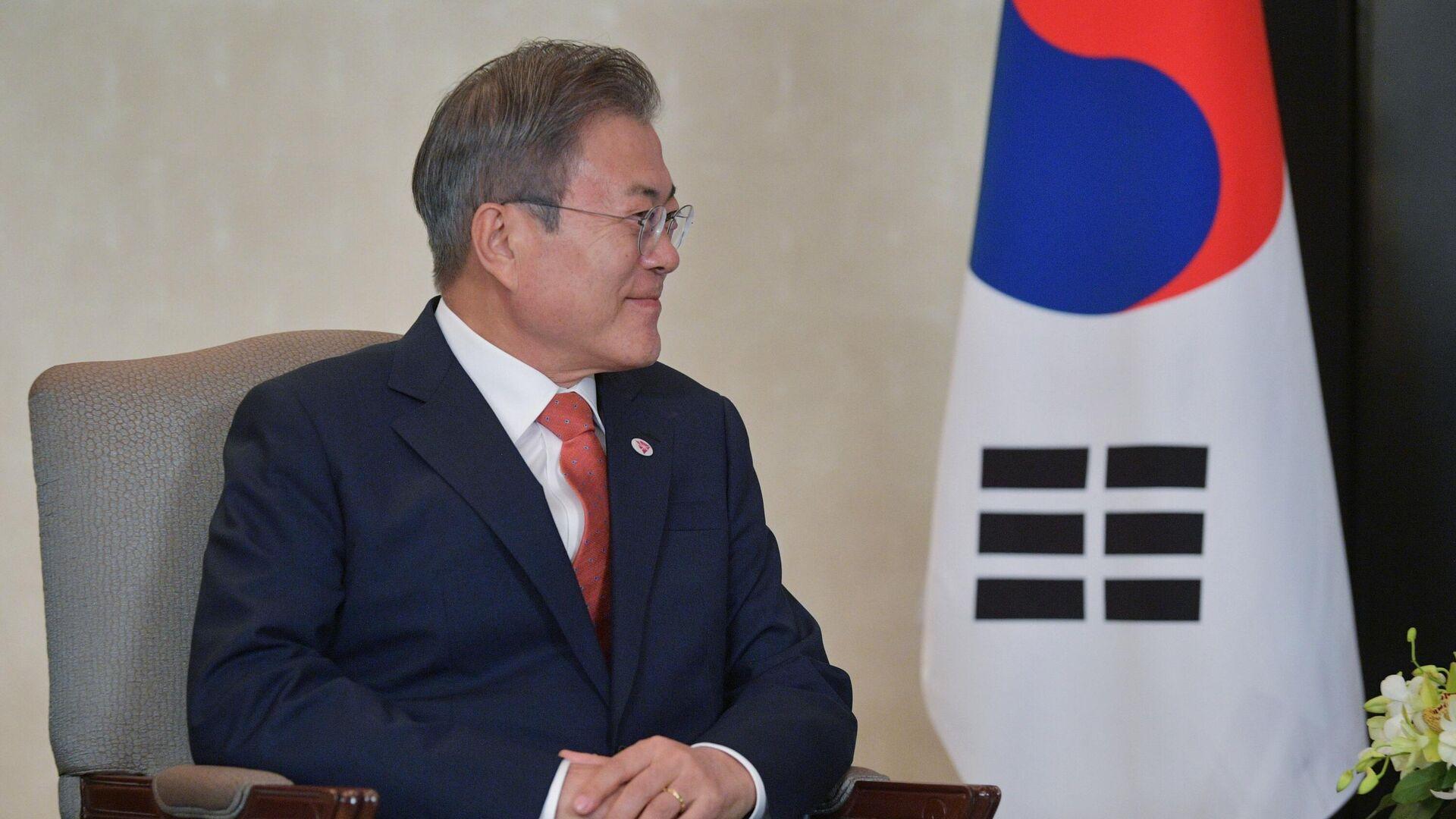 კორეის პრეზიდენტი მუნ ჩჟე ინი - Sputnik საქართველო, 1920, 28.09.2021
