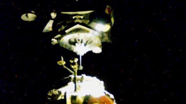 Момент стыковки модуля МКС Наука и корабля Союз - Sputnik Грузия