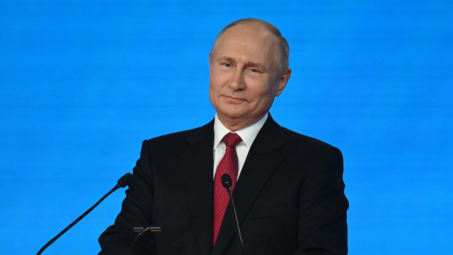 Президент РФ Владимир Путин  - Sputnik Грузия, 1920, 29.09.2021