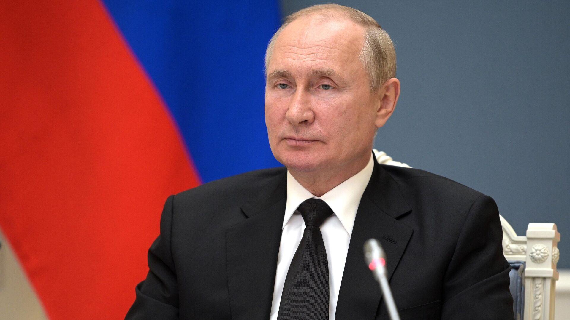 Президент России Владимир Путин - Sputnik Грузия, 1920, 29.09.2021