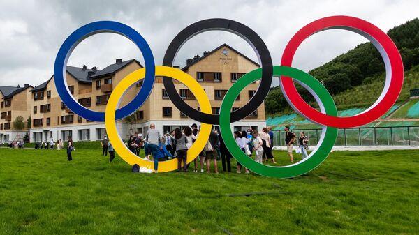 Олимпийские объекты зимних Олимпийских игр-2022 в Пекине - Sputnik Грузия