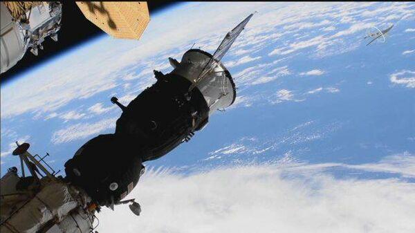 К модулю Наука впервые пристыковался пилотируемый корабль - Sputnik Грузия