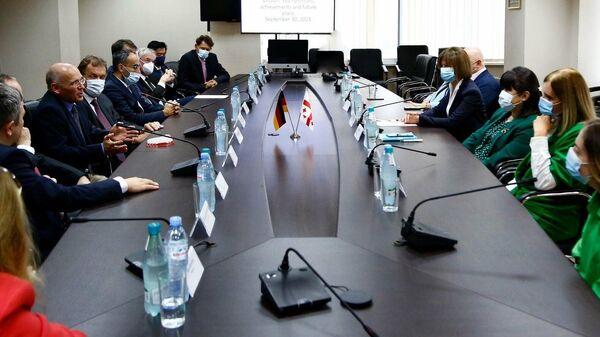 В Минздраве Грузии состоялась встреча с немецкими медиками  - Sputnik Грузия