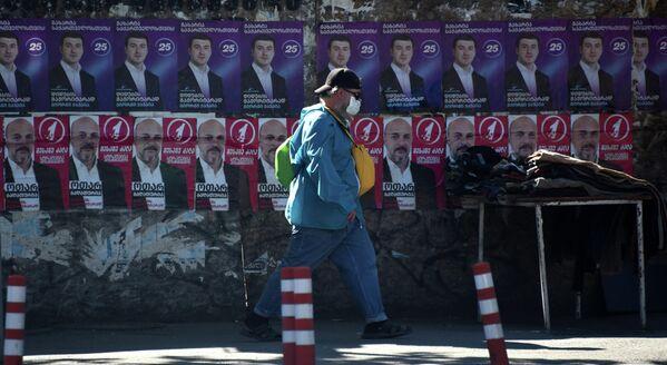 В субботу в Грузии пройдут выборы в местные органы власти, несмотря на пандемию коронавируса. - Sputnik Грузия