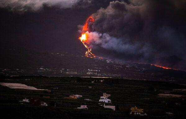 Предыдущее извержение на острове Пальма было в 1971 году, когда извергался вулкан Тенегия - Sputnik Грузия