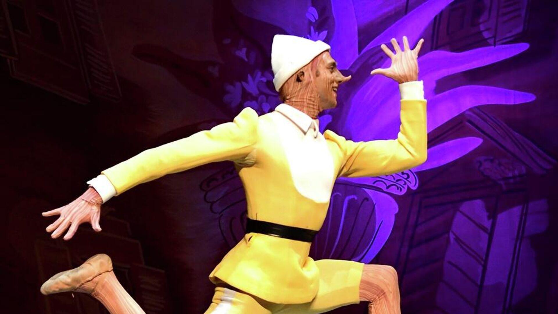 Афиша балета Пиноккио в Театре оперы и балета им. З. Палиашвили - Sputnik Грузия, 1920, 01.10.2021